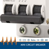 amp circuit breakers - DZ47 AC380v phase amp miniature circuit breaker mcb