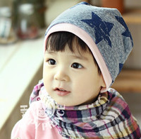 big star - Big Five Star Cotton Beanie Hats Skull Cap For Years Toddler Infant Baby Winter Children Warm Accessories