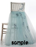 Wholesale 2015 For Lace Tulle Chair Sashes Chair Covers Sample Link CS06