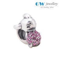 genuine jewelry - Genuine S925 sterling silver dolphin frame jewelry beads charm fits DIY bracelets necklace X304 A6