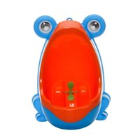 Wholesale Design High Quality Export baby potty wall hung type kids toilet portable potty training toilet boys trainers Blue