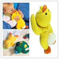 baby bedding ducks - Hot Salw Best seller Yellow Duck and Green Turtle Baby Bottle Huggers Infant feeding bottle bag case