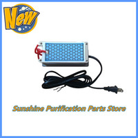 Wholesale 110V US Plug Portable Ozone Generator g with Long Life Ceramic Plate for Air Sterilization Discounted Shipping