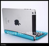 apple gaming keyboard - For Apple iPad Mini Aluminum Bluetooth Wireless Gaming Keyboard Holder Case Cover mini wireless qwerty keys keypad