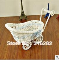Wholesale wedding gift runner home decoration rattan storage basket cosmetics gift