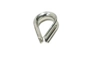 Wholesale Europe Stainless Steel Wire Winch Rope Thimble M4 MM marine boat hardware