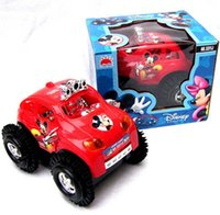 dump truck - Mickey electric dump truck electric toy car will somersault stall selling electric mickey dumper Children s electric plastic car trucks