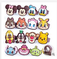 Silicone adult gift stores - 15 Styles Soft Silicon Finger Rings Mickey Minnie Children Cartoon Donald Duck Rings Party Favors Adult Christmas Gifts PVC bOX Dhgate store