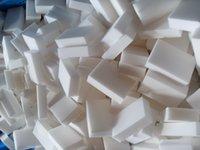 Wholesale 100pcs Magic sponge clean eraser clean x60x20mm White Melamine