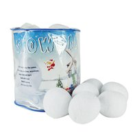 ball fighting - Party Supplies Christmas gift Snowball Plush Toys Ball Barrel FIGHTING SNOW Xmas Snowball toys for winter party decorations home decor