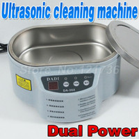 Wholesale DADI Dual power W W Ultrasonic Cleaning Machine Small cleaner V V A3