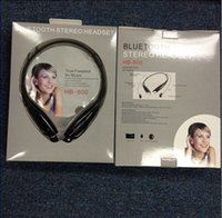 Wholesale 145cs HB800 Bluetooth Stereo Headset Wireless earphone sport headphone For LG iPhone Samsung HB Also Sell HBS A