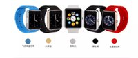 wrist support - Luxury Bluetooth Smart Watches GT08 For Android IOS Phone Wrist Wear Support Sync SIM TF Card Camera DHL Fedex Fast shipping