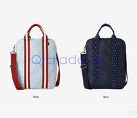 Wholesale 100PCS LJJH1130 large capacity travel clothing storage bag Fashion women men sport fitness bag Nylon shoulder bag stuff sacks
