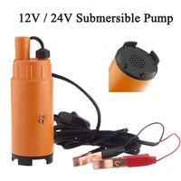 Wholesale 12V V DC Plastic MINI Diesel Fuel Water Oil Diesel Fuel Transfer Pump Submersible Transfer Pump On Off Switch Car Van