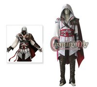 Wholesale Custom made Assassin s Creed II Ezio Auditore da Firenze Cosplay Costume
