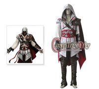Custom made Creed II Ezio Auditore da Firenze cosplay costume Assassin