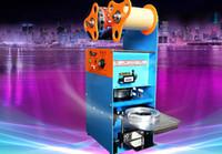 Wholesale Tea sealing machine hand pressure sealing machine seal cup machine milk milk plastic paper cup sealing machine