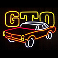 american residential - 17 quot x14 quot GM AMERICAN AUTO PONTIAC GTO Design Real Glass Neon Light Signs Bar Pub Restaurant Billiards Shops Display Signboards