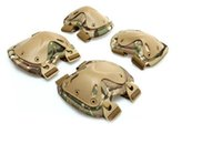 Wholesale New Transformers tactical knee and elbow protector pads set Green