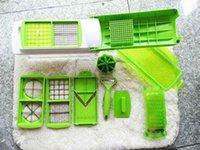 vegetable dicer - 12Sets Nicer Dicer Plus Vegetables Fruits Dicer Food Slicer Cutter Containers Chopper Peelers