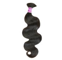 Wholesale High Grade Hair Weave Brazilian Hair Bulk Grade A Remy Human Hair Extension Unprocessed PC Brazilian Virgin Hair Body Wave