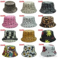 Wholesale HOT MCM bucket hats new Cloches Fashion Leather hats bape bucket hat caps new fishing camping hat travel outdoor cotton winter hat