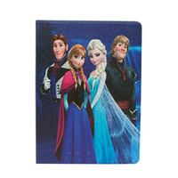 air bag movie - Cartoon Movie Cover With Stand Holder PU Leather Case for ipad mini ipad air with pp bag