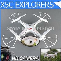 Wholesale original G CH x5c Axis rc helicopter with camera syma x5c rc drone controle remoto drone parrot quadcopters aviones