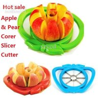 pear corer - Apple Pear Corer Slicer Cutter Core Handed Wedger Fruit Easy Cut Segments DHL Free