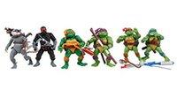 Cheap 6pcs set TMNT Teenage Mutant Ninja Turtles Movable PVC Action Figure Collection Toys Dolls 12cm (4.7inch) tall by DHL 10sets=60pcs