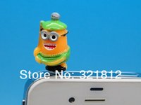 despicable dust stopper achat en gros de-Gros-Despicable Me Cartoon ME2 anti-poussière capuchon Stopper casque pour iPhone tactile Samsung 5C 5 3GS 4 4S Ipad 2 3 600pcs gros