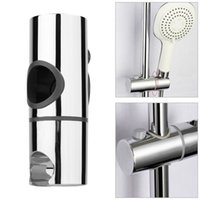 Wholesale Replacement mm ABS Chrome Shower Rail Head Slider Holder Adjustable Bracket