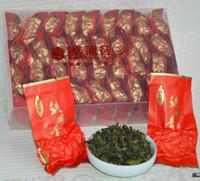 al por mayor lazo de grado-Té chino libre del envío 500g té chino de Anxi Tieguanyin del oolong de China té del yin de guan del guante del fujian Salud 64 de Tikuanyin PEQUEÑOS bolsos