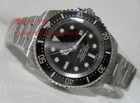 eta swiss movement - Luxury Top Quality V5 N Factory mm Black Dial Sea Dweller Ceramic Swiss ETA Movement Automatic Mens Watch Man Watches