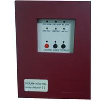Wholesale 2 Zones Fire Alarm Control Panel MINI Fire Alarm Control System Conventional Fire Control Panel master or salve panel