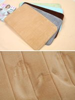 Wholesale Memory Foam Mats Slip Resistant Water absorbing Doormat Carpet Bath Rug