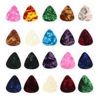 Wholesale New Arrival mm Stylish Colorful Celluloid Guitar Picks Plectrums For Guitar Bass