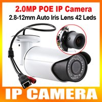 Infrared auto iris lens - High Quality x Zoom Auto Iris Motorized Lens IR m MP Bullet Security Bullet IP Camera With POE P Outdoor Support IOS Android