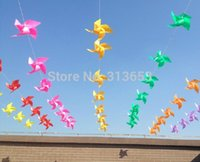 Wholesale 70 diameter cm decoration windmill Kids birthday party decoration wedding party supplies garden decorated windmill