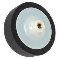 Wholesale 2015 new arrival S14mm Screw Diameter Polyester Soft Puffing Pad Wheel for Car Waxing Polishing CDE_965