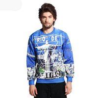 Cheap FG1509 new style women men 3d sweatshirt print Rio de Janeiro graphic sweatshirts autumn punk hoodies tops clothing