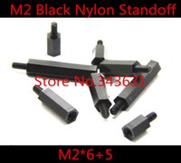 Wholesale m2 black nylon standoff spacer male to female thread
