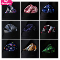 mens tie handkerchief - Assorted Mens Pocket Squares Hankies Hanky Handkerchief Large Size Accessory Neckties Ties