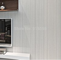 home decor fabric - Uniwal Modern D Art Fabric Yard Stripe Wall Paper Bedroom LivingRoom TV Sofa Background Durable Non Woven Wallpaper Home Decor