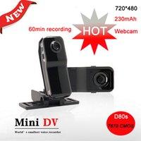Caméra mini numérique DV mini caméra vidéo mini caméra mini numérique (mini, webcam, HDMI, carte TF / SD non incluse)