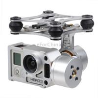 aerial camera mount - DJI Phantom Brushless Gimbal Aluminum Camera Mount with Motor amp Controller for GoPro Hero FPV Aerial Photography