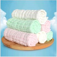 Wholesale Baby Gauze Diapers washable pure cotton towel medical infant washing cloth diaper soft and breathable layers gauze nappy cm