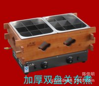 Wholesale Manufacturers Jie crown genuine brand grid holding furnace Chuanchuan thickened Oden Double oven cooker