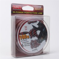 fishing line - Wine Red Saltwater Fishing Line Anti Aging Fluorocarbon Line M Length Line Number Sale
